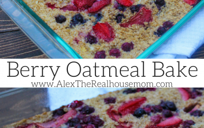 Recipe: Make-Ahead Berry Oatmeal Bake