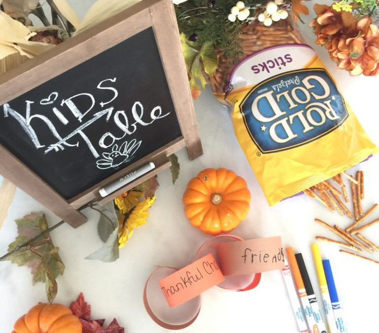 Thanksgiving Kids Table You'll Want To Sit At!