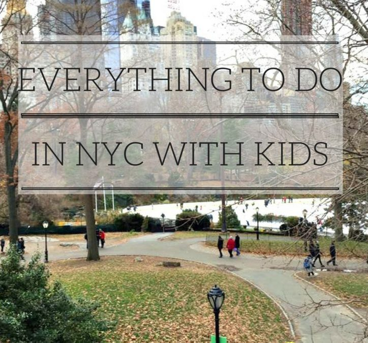 Everything to do in NYC with Kids