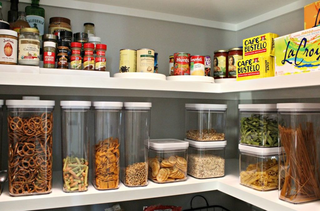 Eight Steps to an Organized Pantry