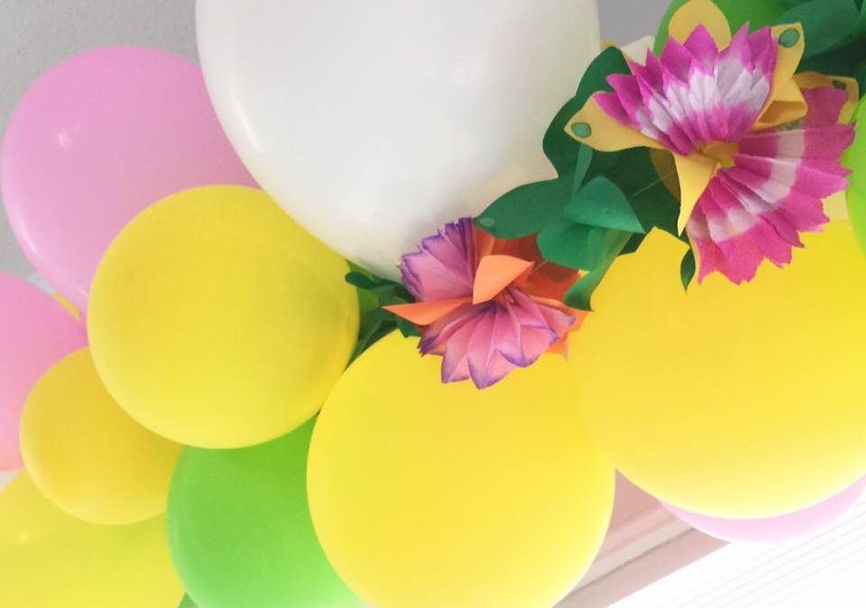 Do It Yourself: Balloon Garlands