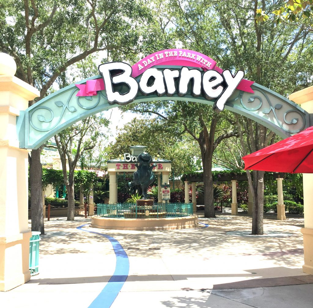 Barney's Backyard at Universal Studios