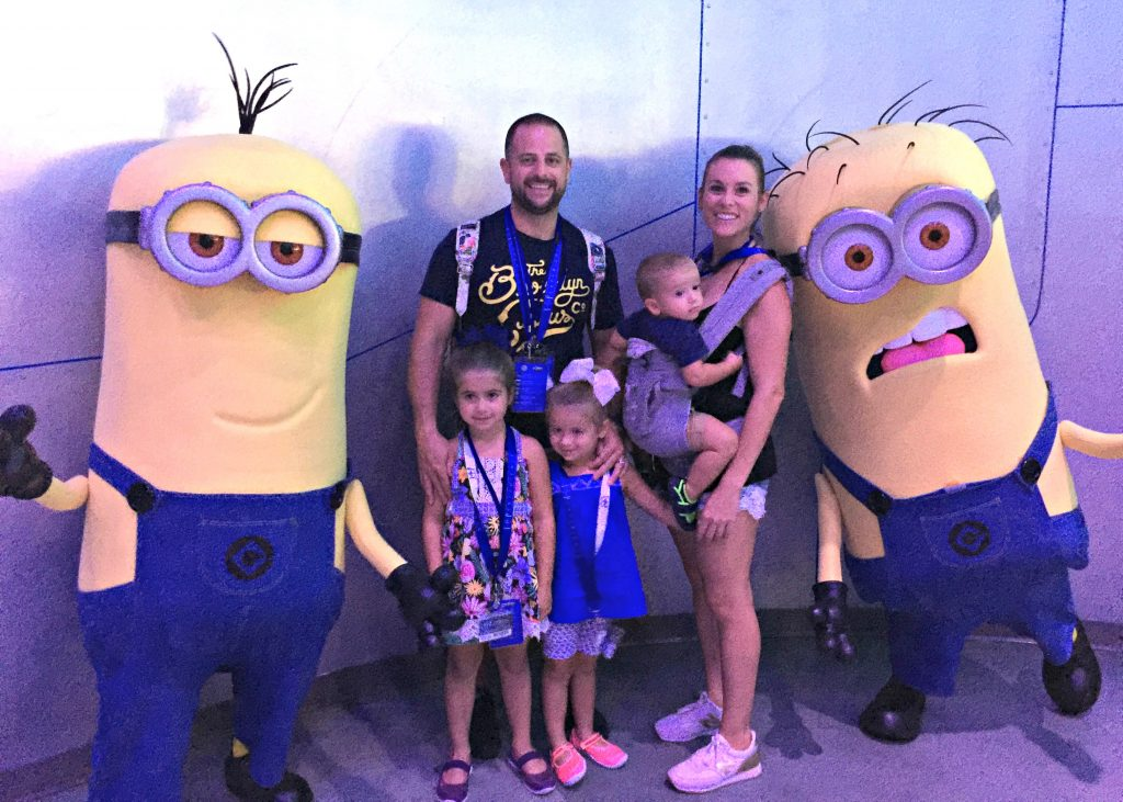 Despicable Me Minions at Universal Studios