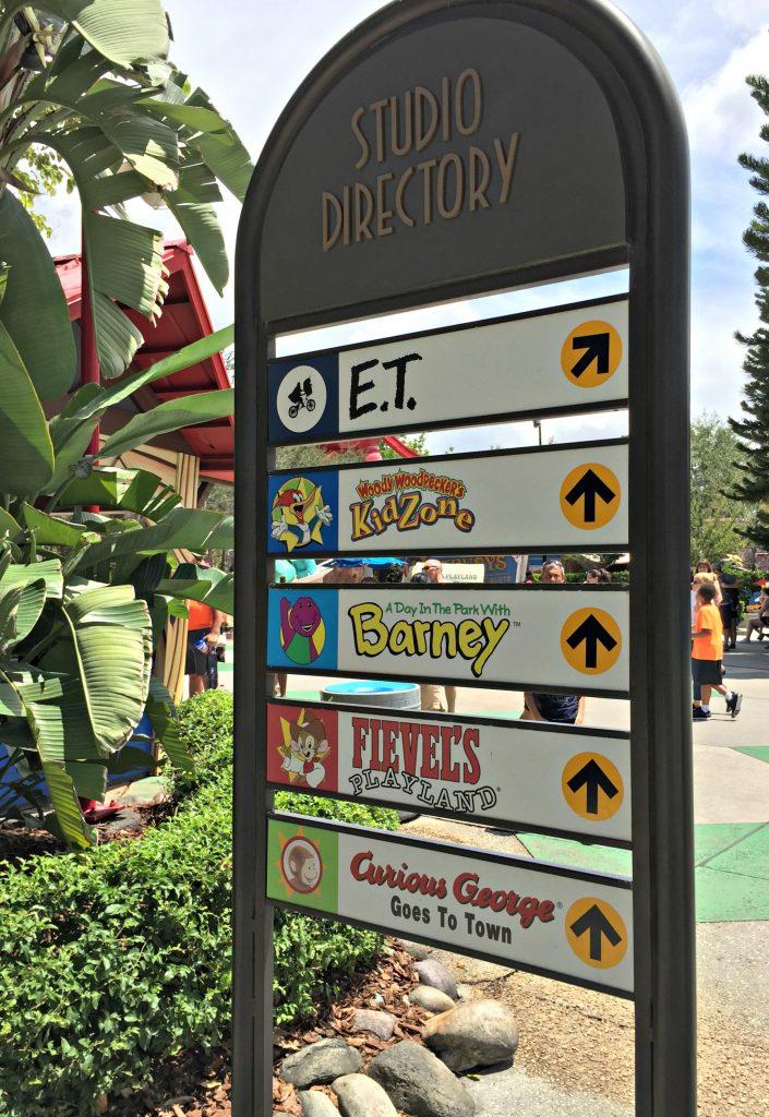 Universal Studios Directory
