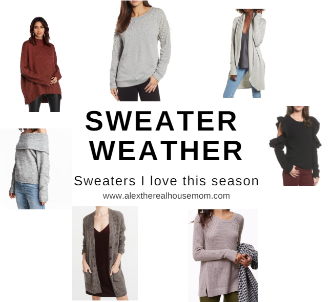 Sweater Weather Must Haves