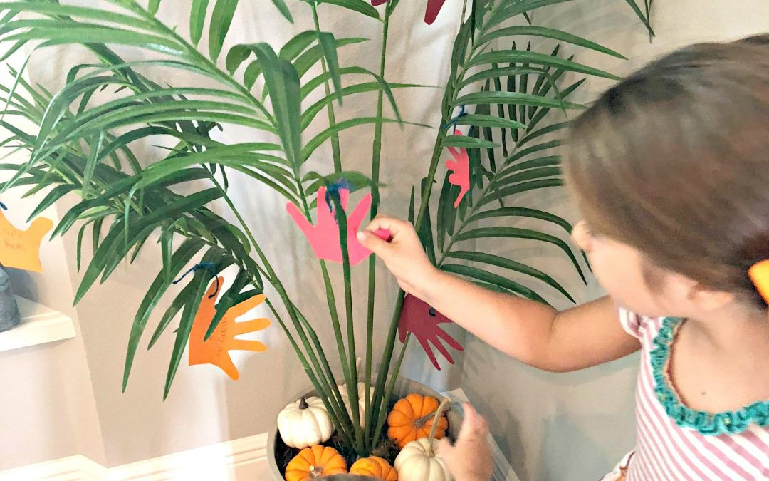 DIY: Create a Thankful Tree