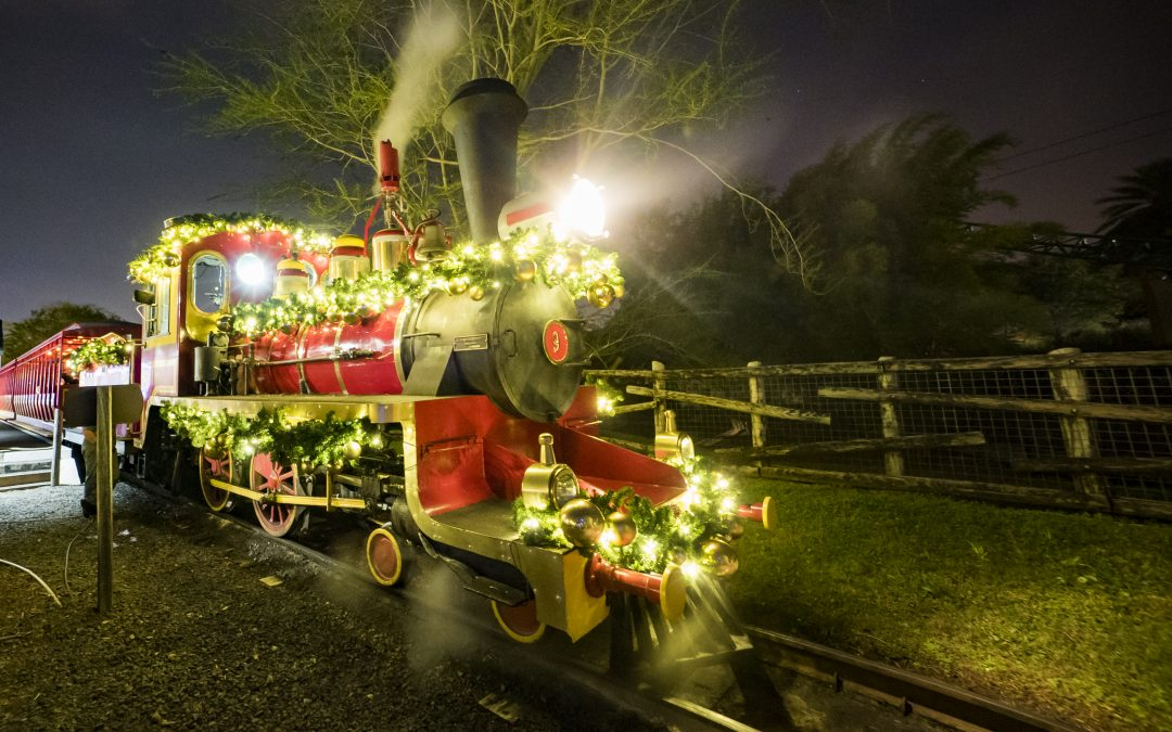 Take the Kids to Christmas Town at Busch Gardens
