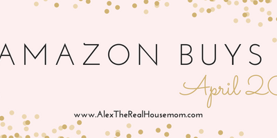 Amazon Finds & Buys – April